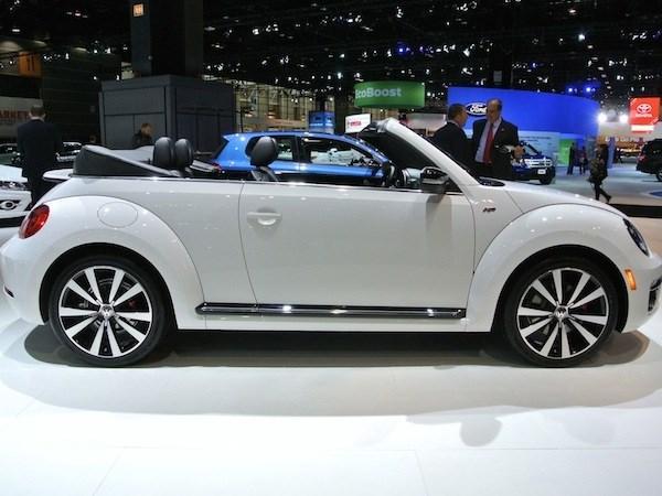 Обновленный Volkswagen Beetle скоро выйдет на американский рынок