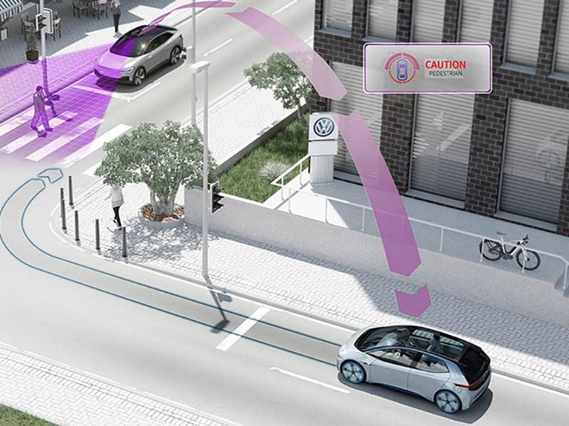 Volkswagen научит общаться между собой свои автомобили