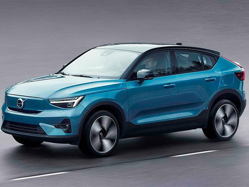 Volvo представился свой новый электромобиль