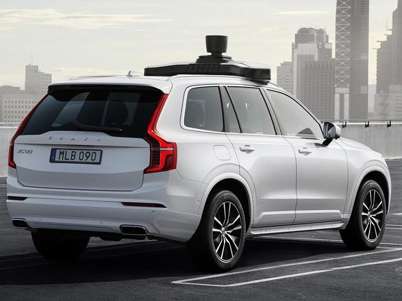 Volvo представила серийный беспилотник Фото Авто Коломна