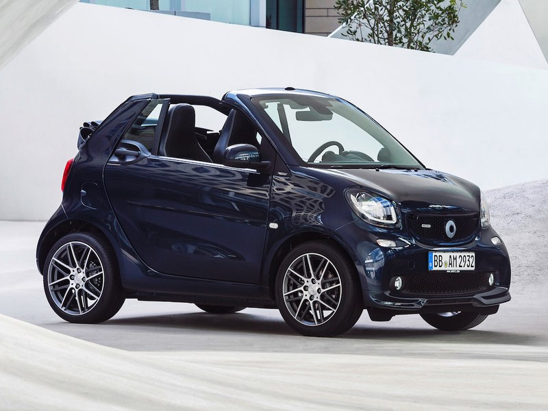 Компания Mercedes обнародовала русские цены наспортивные версии нового Смарт