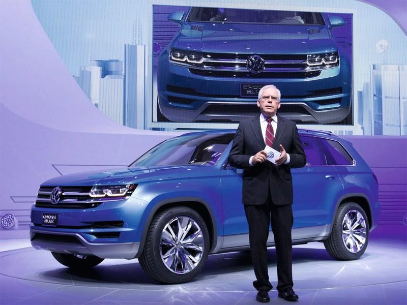 Volkswagen представил гибридный кроссовер