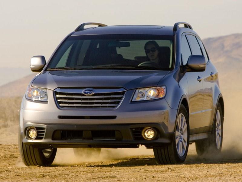 Subaru отзывает более 4,5 тысяч кроссоверов Tribeca в России