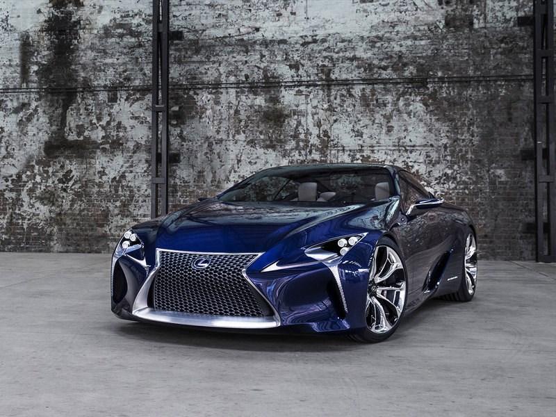 Новое поколение Lexus LS увидит мир уже в 2017 году