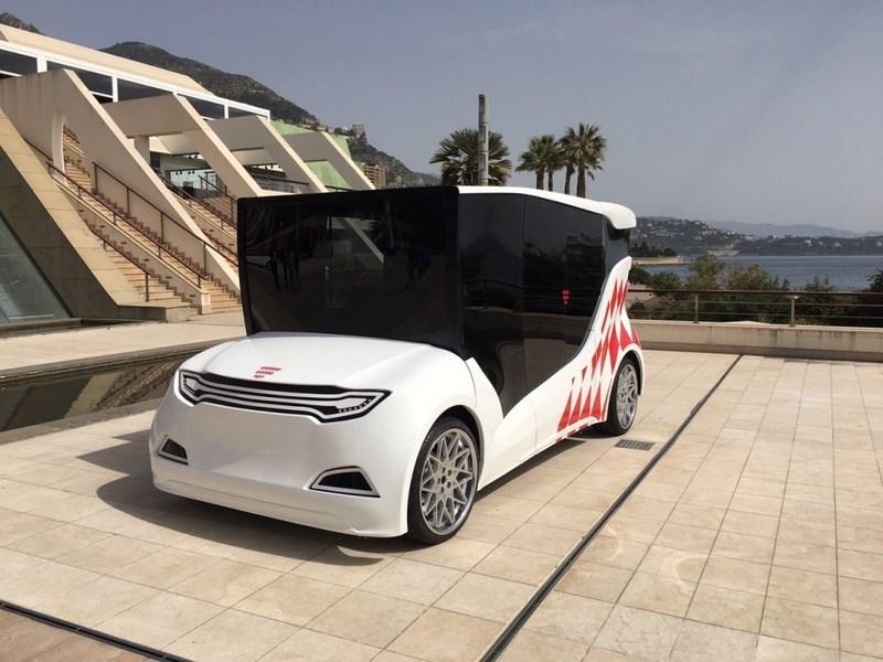 В Монако показали первый украинский электромобиль